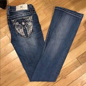 Miss me bootcut jeans pants bottoms denim